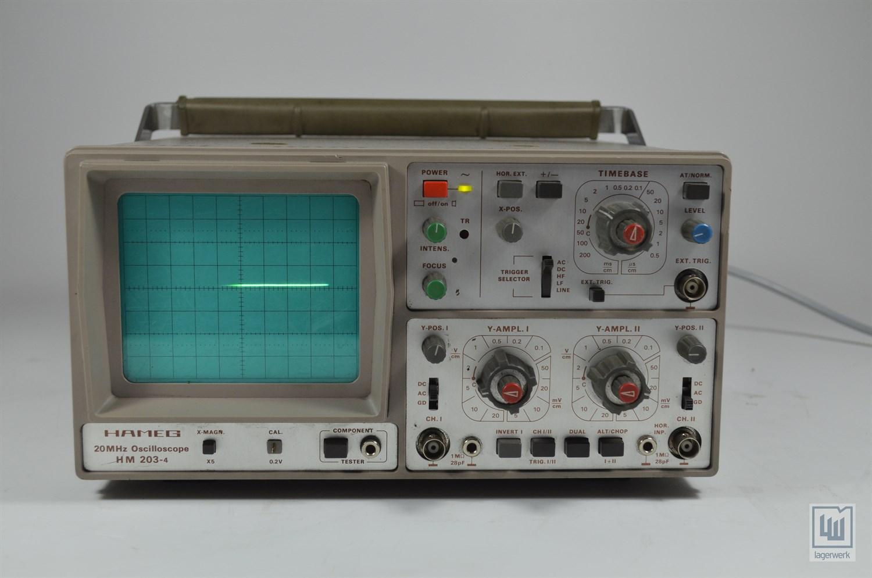 Hm 203 4 User Manual Hm 203 4 Oscilloscope From Hameg