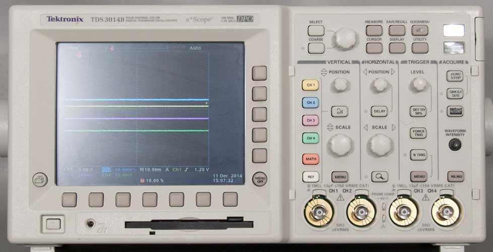 tds3034b user manual tds3034b oscilloscope from tektronix rh allaboutcircuits com Tektronix Analog Oscilloscope Tektronix Digital Oscilloscope