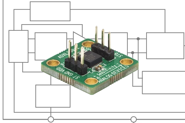 Low-Noise, Wide-Bandwidth: A Single Axis Analog Accelerometer from