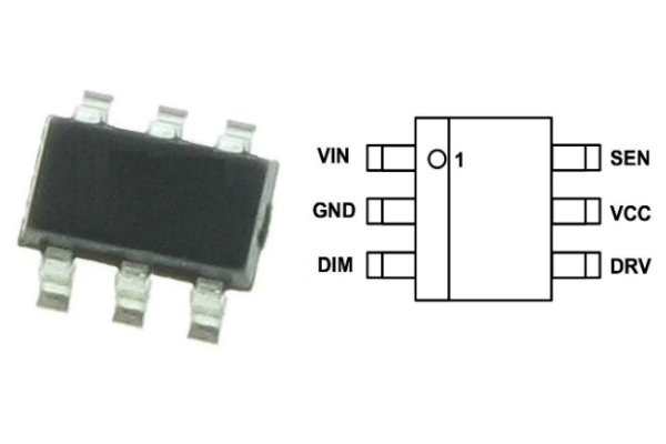Wide Input Voltage Range In A Small 6 Pin Package On Semi