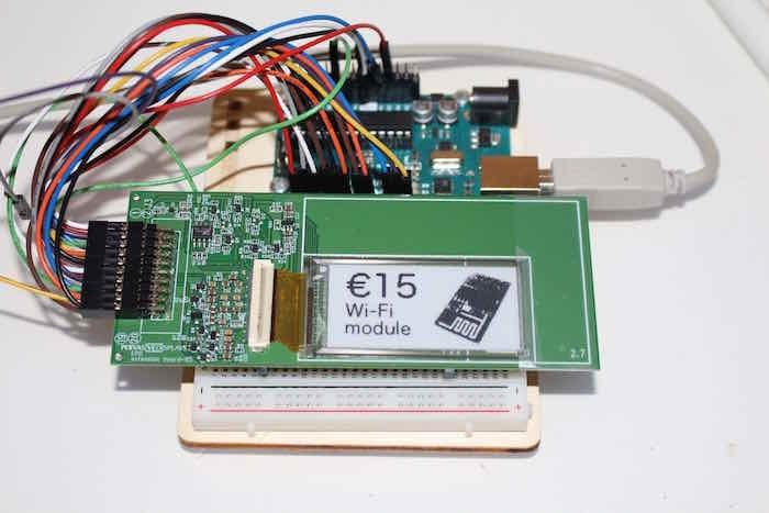 Arduino Basics: E-Paper Barcode 39
