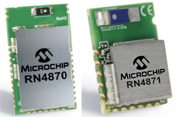 Sensors and Controls with the RN487x Bluetooth Module from Microchip
