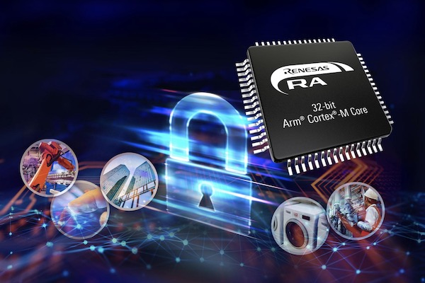 Renesas Introduces Security-Focused RA Family of Arm-Based MCUs