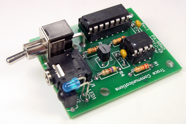 Controlling a Stepper Motor with an SIRC Transmitter and Receiver