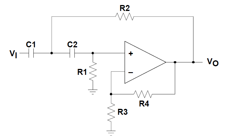 Op Amps As Active Low Pass And Active High Pass Filters Video Tutorial