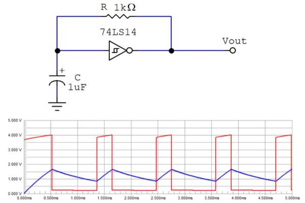 logic diagram tool exactly how schmitt trigger oscillators work technical  exactly how schmitt trigger oscillators work technical