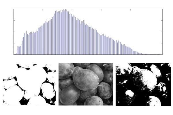 Pixel Intensity Histogram Characteristics: Basics of Image