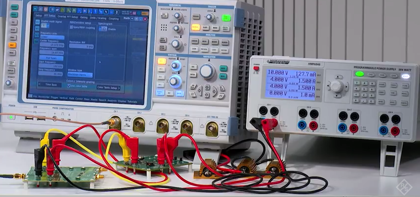 Testing Conducted Emission In The R Amp D Lab With An Oscilloscope