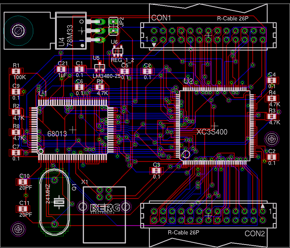 Pcb Layout Style Mistakes That Can Ruin Your Design Here Is The Final Circuit Image With Extra Thick Traces And Large Pads