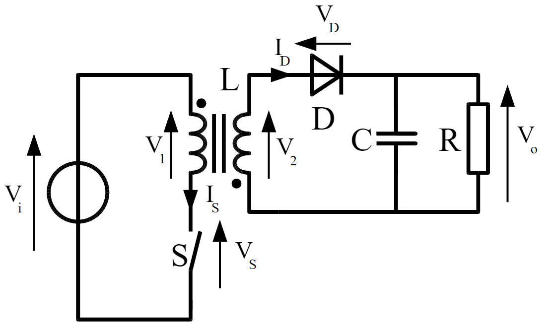 flyback switch mode regulator calculator
