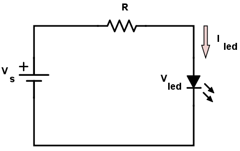 Single LED Resistor